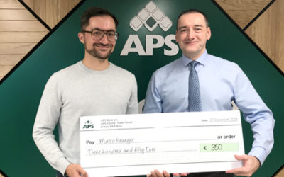 APS bank supports GreenTrips October 2019 Challenge